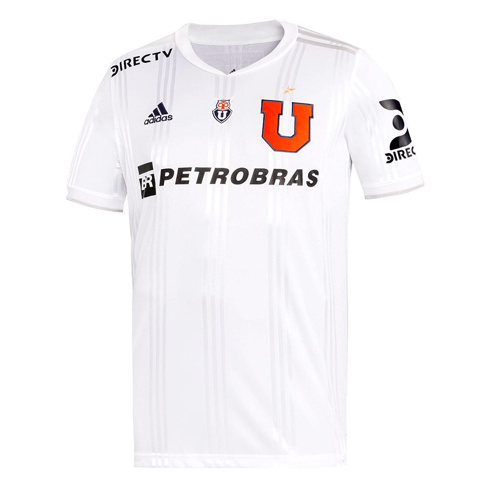 Club Universidad de Chile Away 2020 Football Shirt. The shirt is manufactured by Adidas and the club plays in Chile.