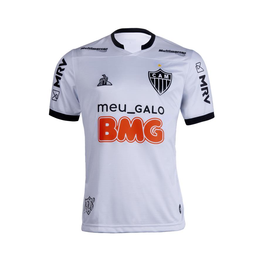 Clube Atlético Mineiro Away 2020/2021 Football Shirt. The shirt is manufactured by Le Coq Sportif and the club plays in Brazil.