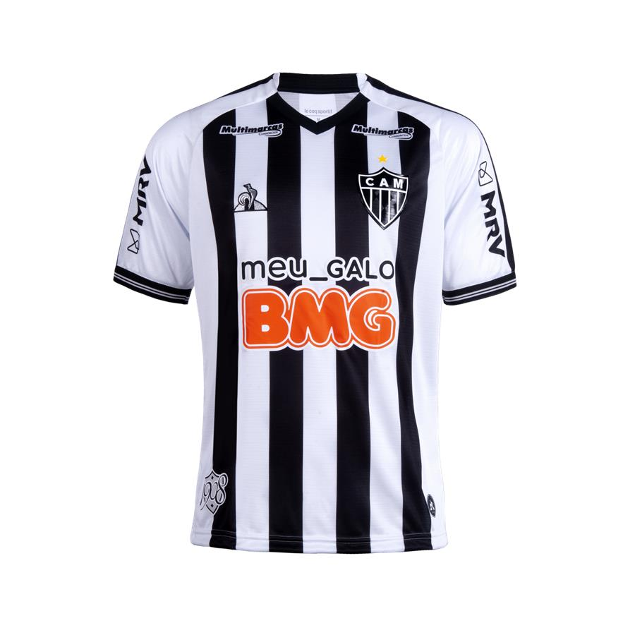 Clube Atlético Mineiro Home 2020/2021 Football Shirt. The shirt is manufactured by Le Coq Sportif and the club plays in Brazil.