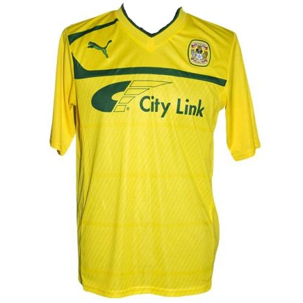 Coventry City Away 2012/2013 Football Shirt Manufactured By Puma. The Club Plays Football In England.