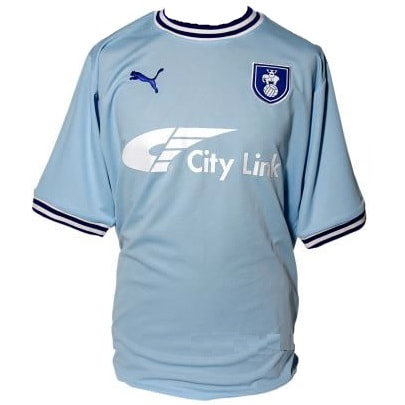 Coventry City Home 2011/2012 Football Shirt Manufactured By Puma. The Club Plays Football In England.