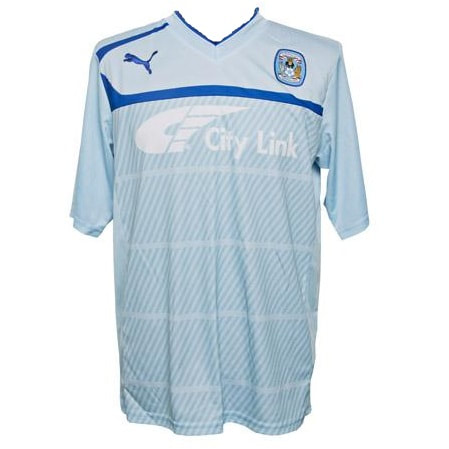 Coventry City Home 2012/2013 Football Shirt Manufactured By Puma. The Club Plays Football In England.