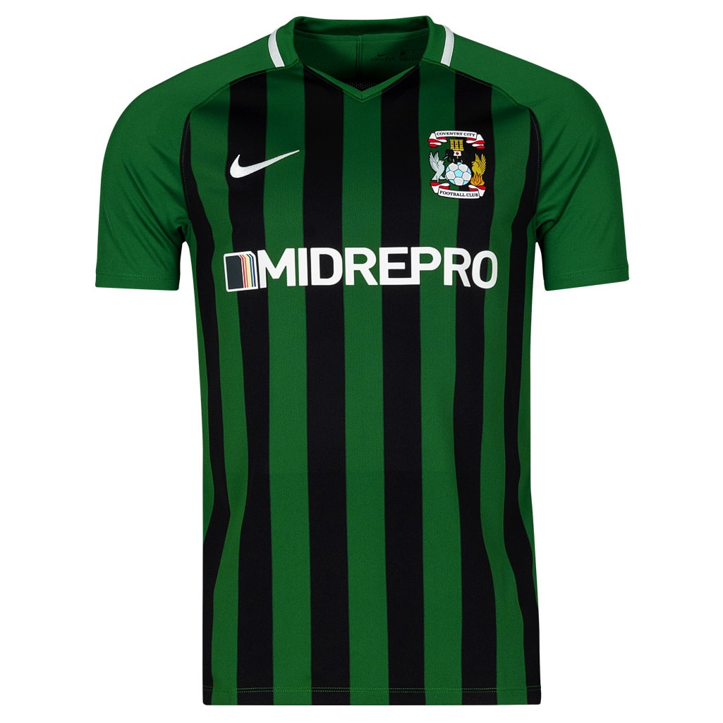 Coventry City Third 2018/2019 Football Shirt Manufactured By Nike. The Club Plays Football In England.