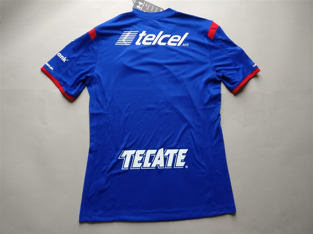 Cruz Azul Fútbol Club, A.C Home 2014/2015 Shirt. BNWT. Medium. Club Football Shirts.
