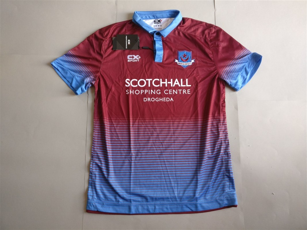 Drogheda United F.C. Home 2016 Shirt. BNWT. Medium. Club Football Shirts.