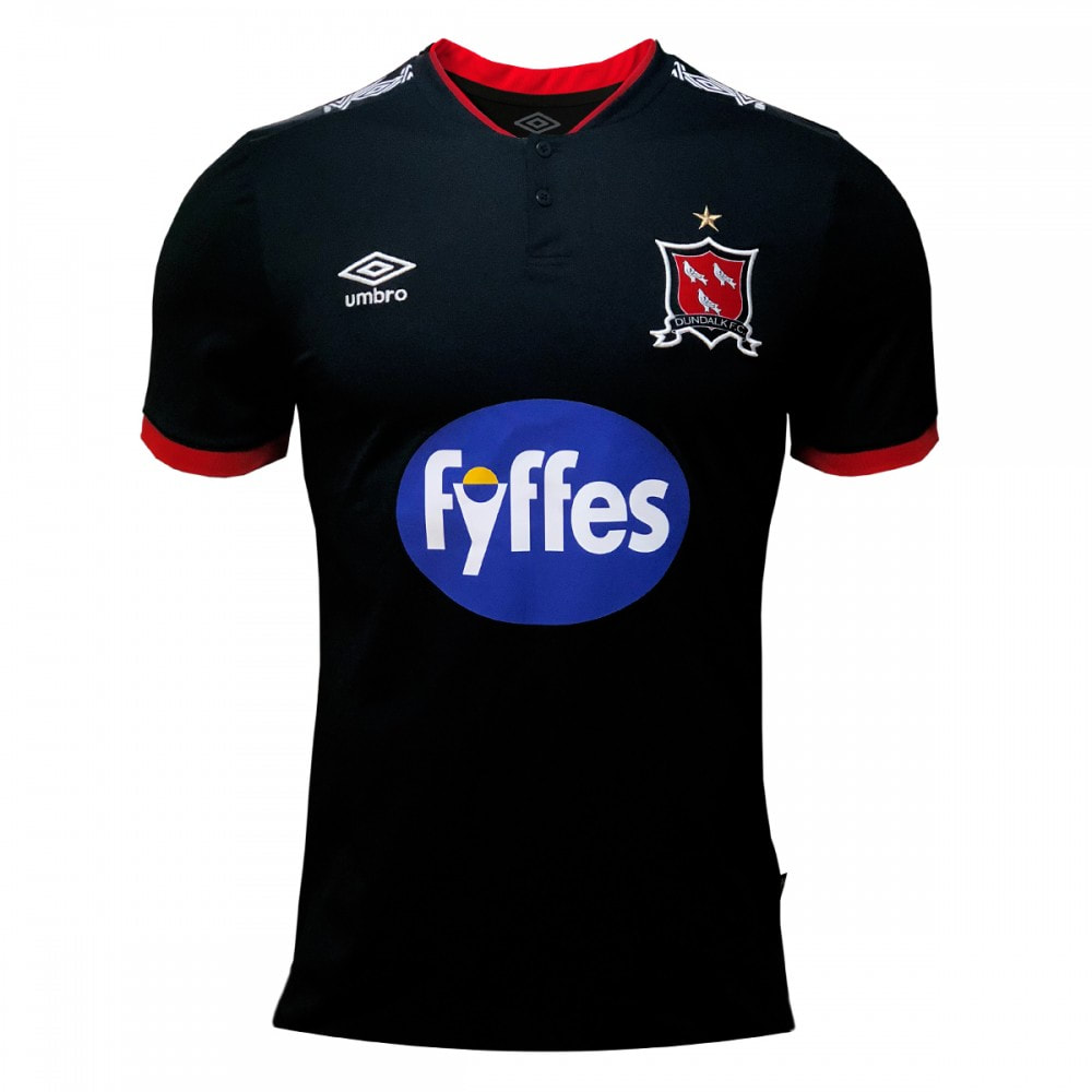 Dundalk Away 2020 Football Shirt Manufactured By Umbro. The Club Plays Football In Ireland.