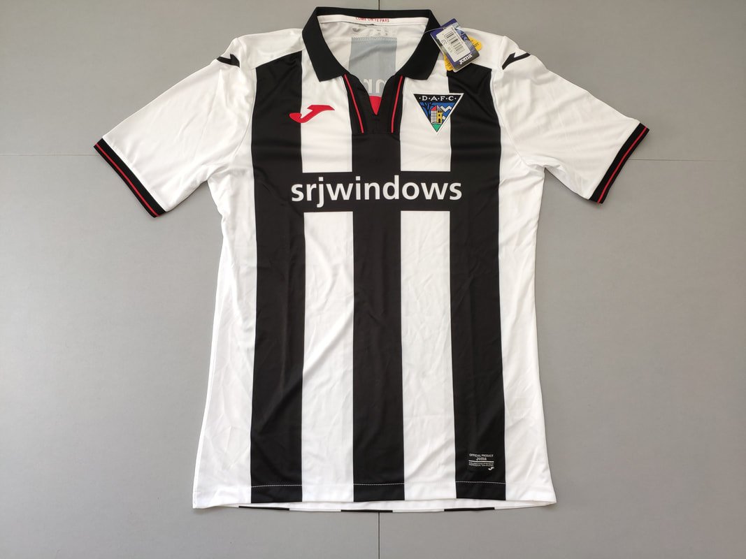 Dunfermline Athletic F.C. Home 2018/2019 Football Shirt Manufactured By Joma. The Club Plays Football In Scotland.