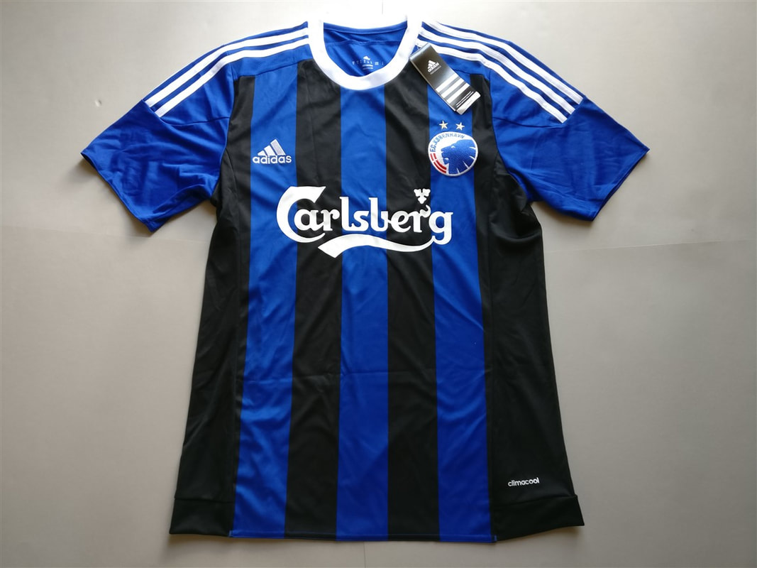 F.C. København Away 2015/2016 Shirt. Medium. BNWT. Club Football Shirts.
