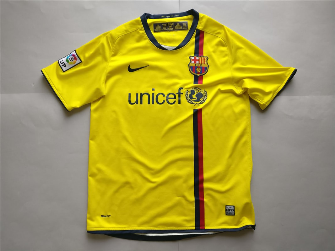 8b37cd26f FC Barcelona Away 2008 2009 Shirt - Club Football Shirts