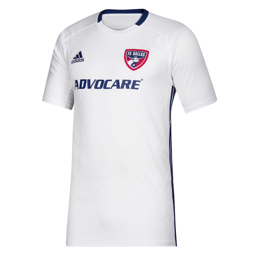 FC Dallas Away 2020 Football Shirt. The shirt is manufactured by Adidas and the club plays in MLS.