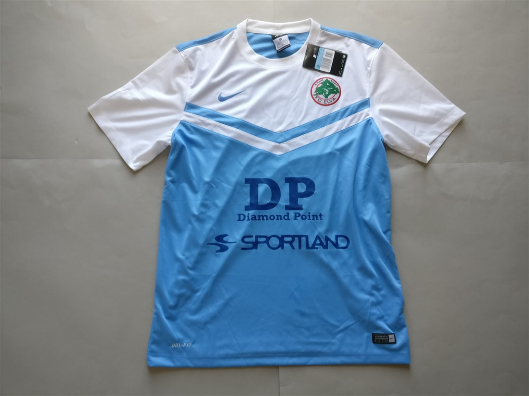 FC Elva Away 2013 Shirt. BNWT. Medium. Club Football Shirts.