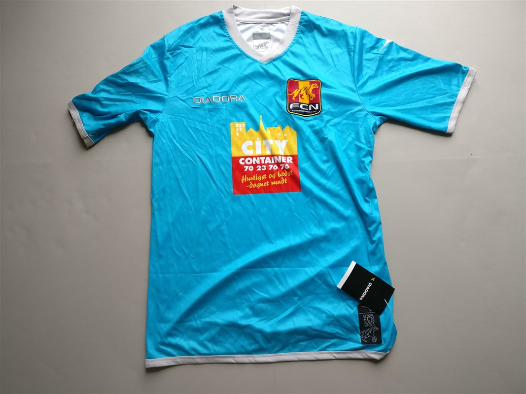 FC Nordsjælland Away 2013/2014 Shirt. BNWT. Medium. Club Football Shirts.