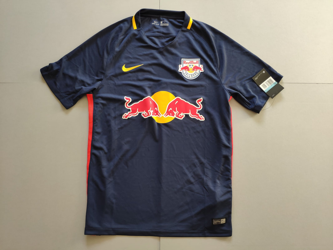 FC Red Bull Salzburg Away 2016/2017 Football Shirt Manufactured By Nike. The Team Plays Football In Austria.