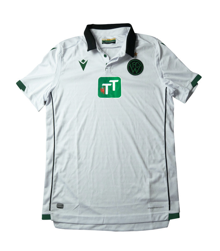 FC Wacker Innsbruck Away 2019/2020 Football Shirt Manufactured By Macron. The Club Plays Football In Austria.