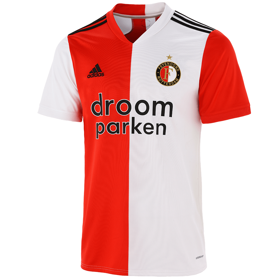 Feyenoord Home 2020/2021 Football Shirt Manufactured By Adidas. The Club Plays Football In The Netherlands.
