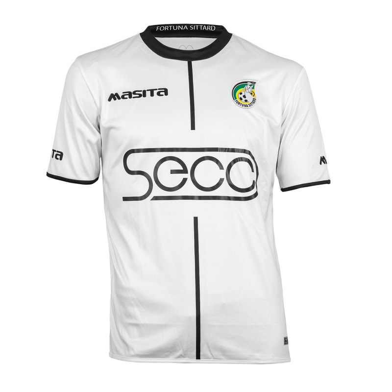 Fortuna Sittard Away 2019/2020 Football Shirt Manufactured By Masita. The Club Plays Football In The Netherlands.