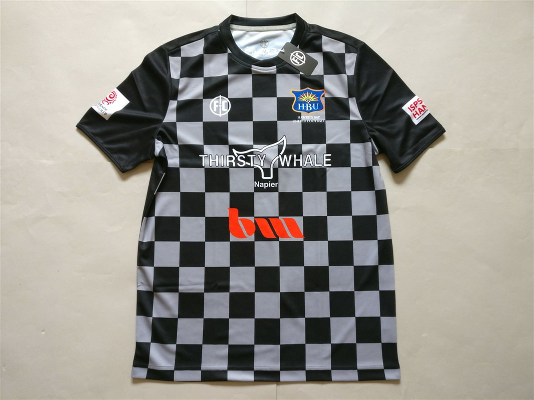 Hawke's Bay United FC Home 2018/2019 Shirt. BNWT. Medium. Club Football Shirts.