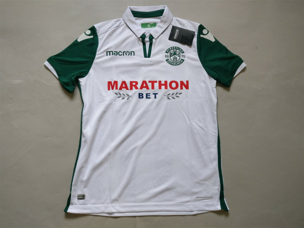 Hibernian F.C. Away 2018/2019 Shirt. BNWT. Medium. Club Football Shirts.