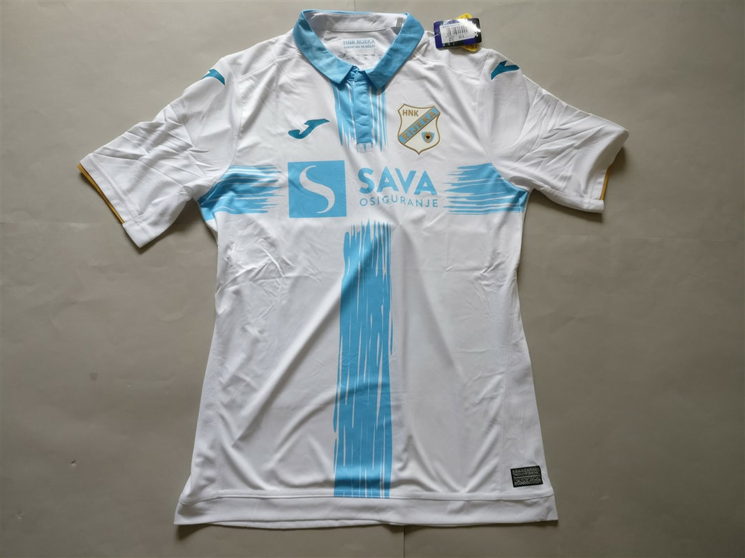 HNK Rijeka Home 2018/2019 Shirt. BNWT. Club Football Shirts.