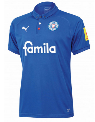 Holstein Kiel Home 2018/2019 Shirt. Club Football Shirts.