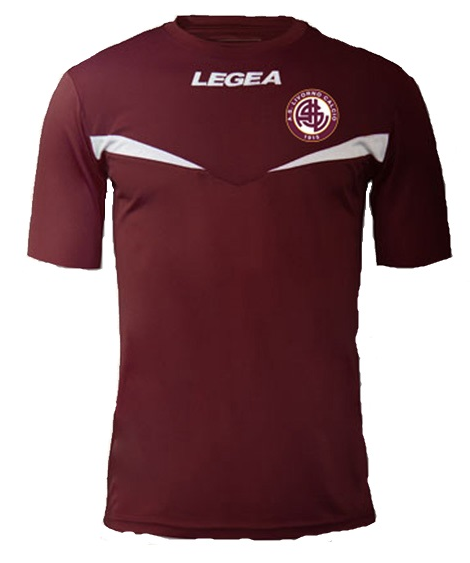 Livorno Home 2018/2019 Shirt. Club Football Shirts.