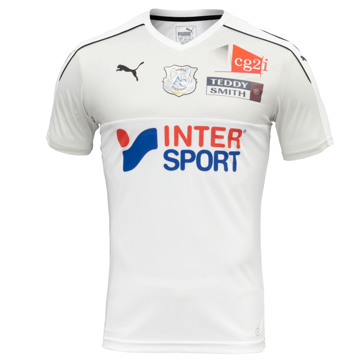 Amiens Home 2018/2019 Shirt. Club Football Shirts.