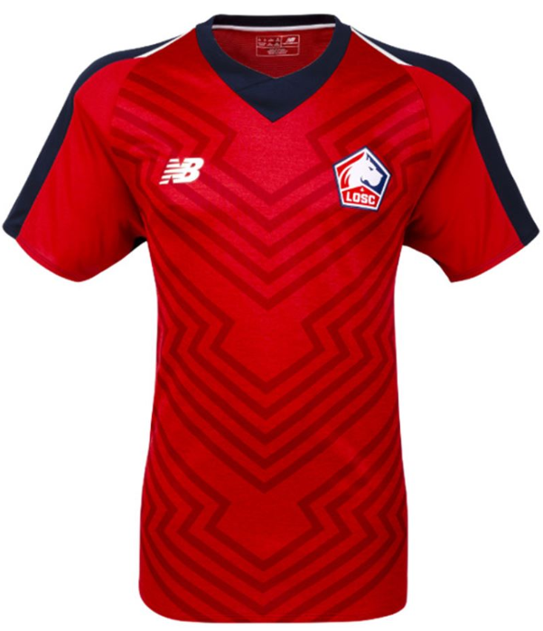 Lille Home 2018/2019 Shirt. Club Football Shirts.