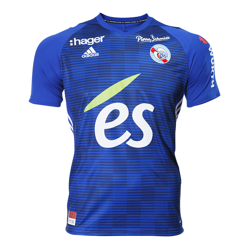 Strasbourg Home 2018/2019 Shirt. Club Football Shirts.