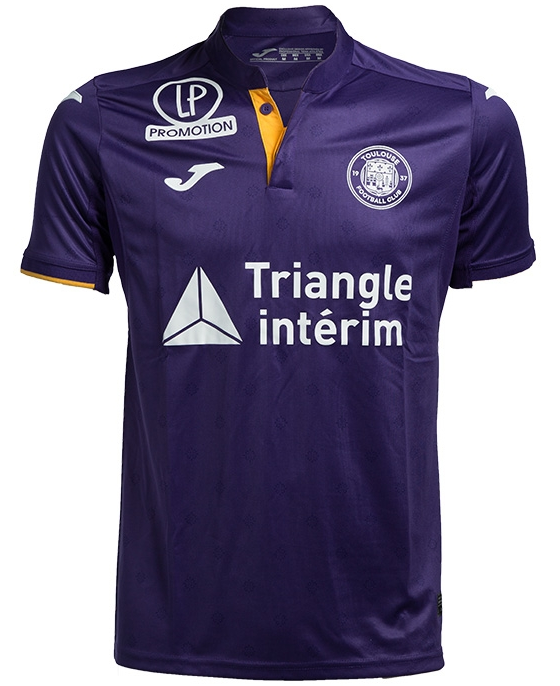 Toulouse Home 2018/2019 Shirt. Club Football Shirts.