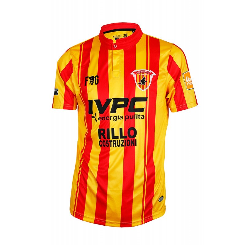 Benevento Home 2018/2019 Shirt. Club Football Shirts.