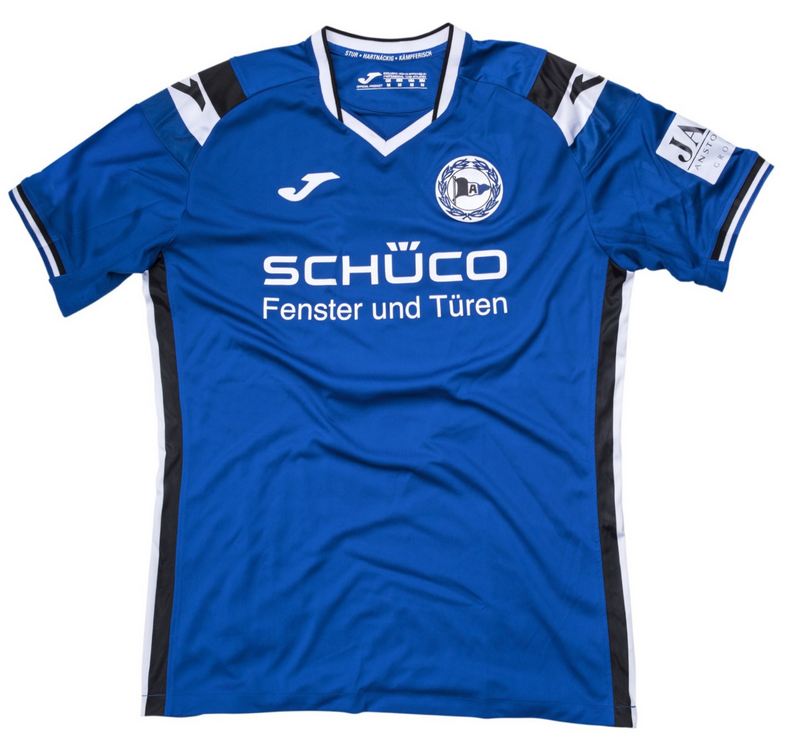 Arminia Bielefeld Home 2018/2019 Shirt. Club Football Shirts.