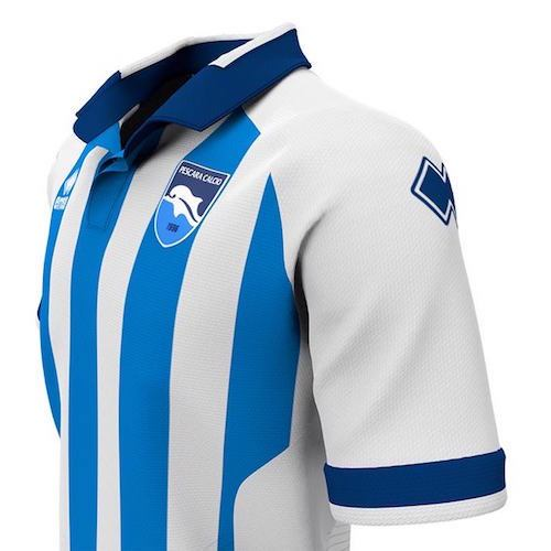 Pescara Home 2018/2019 Shirt. Club Football Shirts.