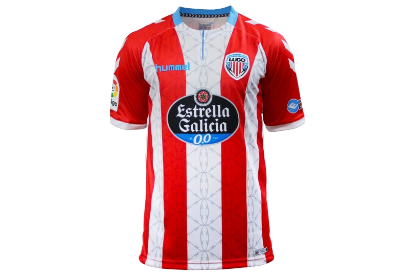 Lugo Home 2018/2019 Shirt. Club Football Shirts.