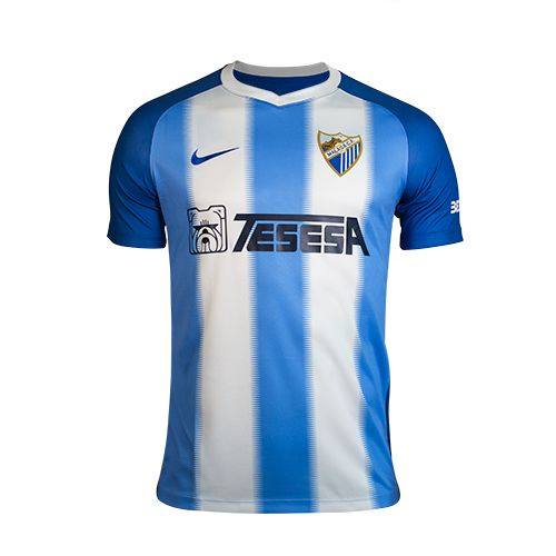 Málaga Home 2018/2019 Shirt. Club Football Shirts.