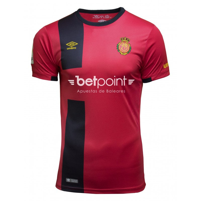 Mallorca Home 2018/2019 Shirt. Club Football Shirts.