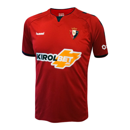 Osasuna Home 2018/2019 Shirt. Club Football Shirts.