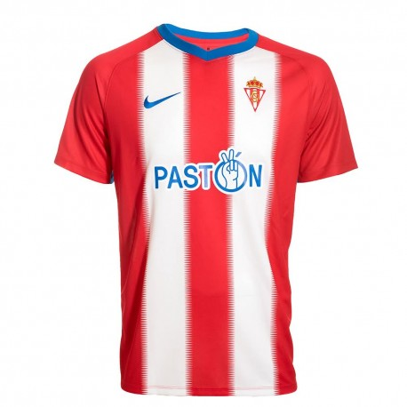 Sporting Gijón Home 2018/2019 Shirt. Club Football Shirts.