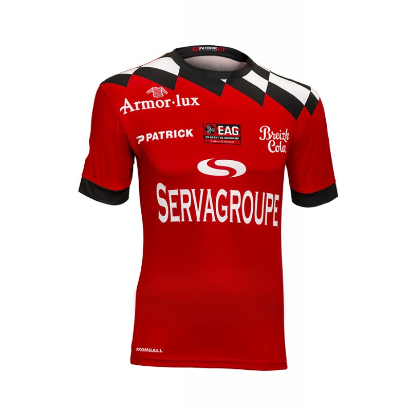 Guingamp Home 2018/2019 Shirt. Club Football Shirts.