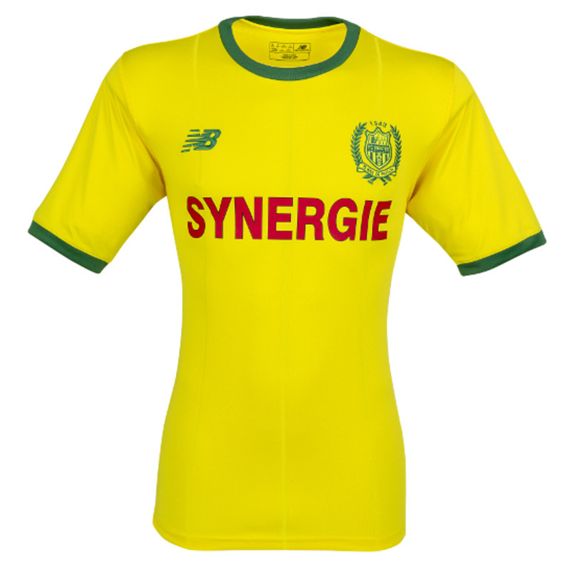 Nantes Home 2018/2019 Shirt. Club Football Shirts.