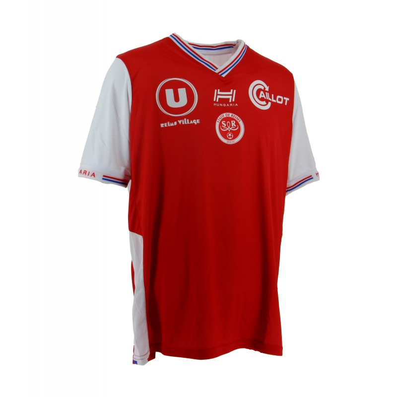 Reims Home 2018/2019 Shirt. Club Football Shirts.