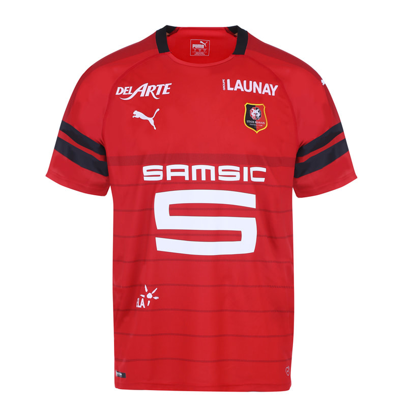 Rennes Home 2018/2019 Shirt. Club Football Shirts.