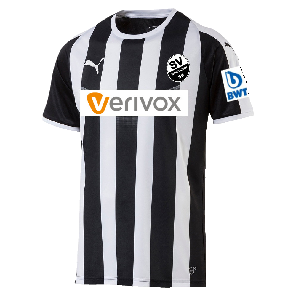 SV Sandhausen Home 2018/2019 Shirt. Club Football Shirts.