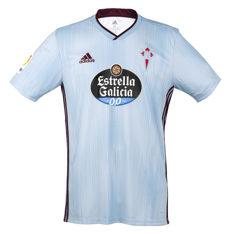 Celta Vigo Home 2019/2020 Shirt. Club Football Shirts.