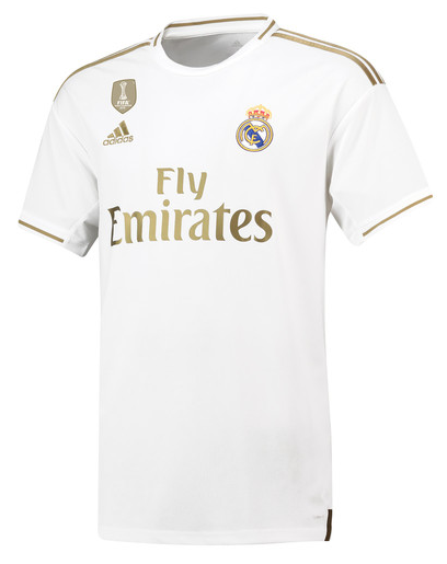 Real Madrid Home 2019/2020 Shirt. Club Football Shirts.