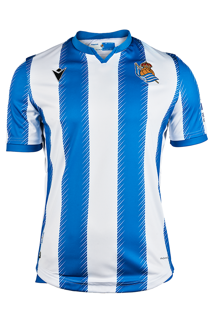 Real Sociedad Home 2019/2020 Shirt. Club Football Shirts.