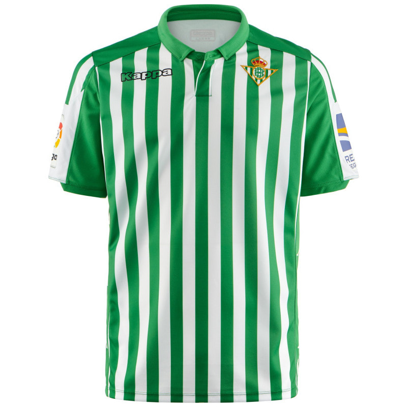 Real Betis Home 2019/2020 Shirt. Club Football Shirts.
