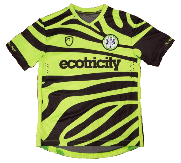 Forest Green Rovers Home 2019/2020 Shirt. Club Football Shirts.