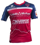Clermont Foot Home 2019/2020 Shirt. Club Football Shirts.