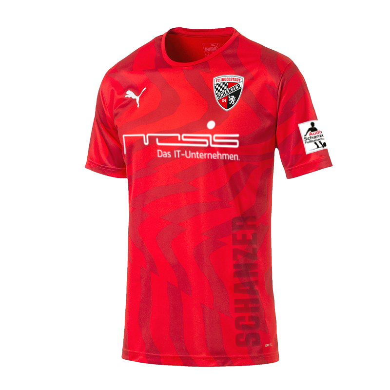 FC Ingolstadt​ Home 2019/2020 Shirt. Medium. BNWT. Club Football Shirts.