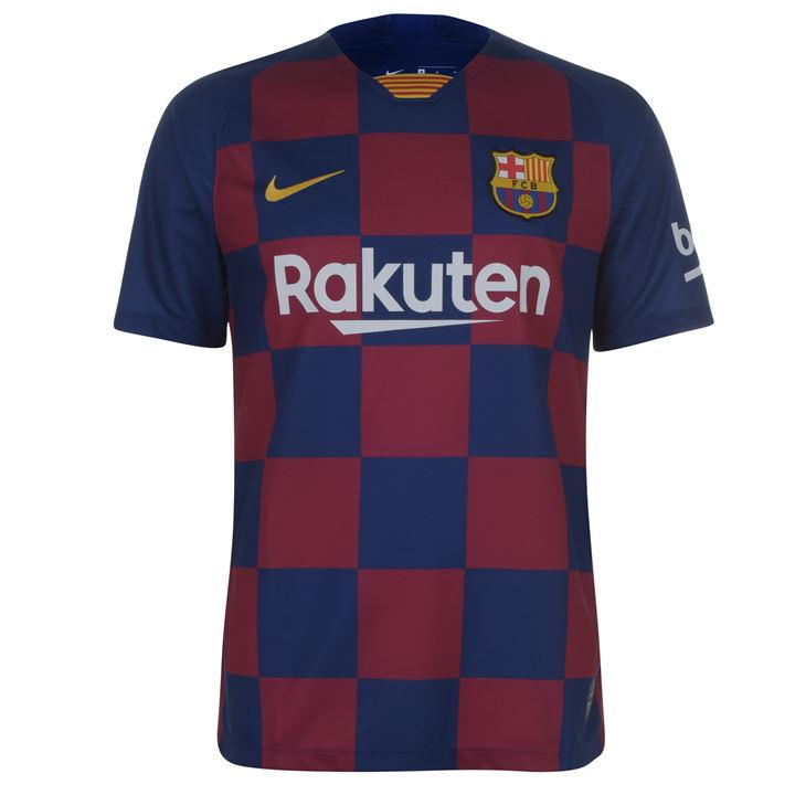 Barcelona Home 2019/2020 Shirt. Club Football Shirts.